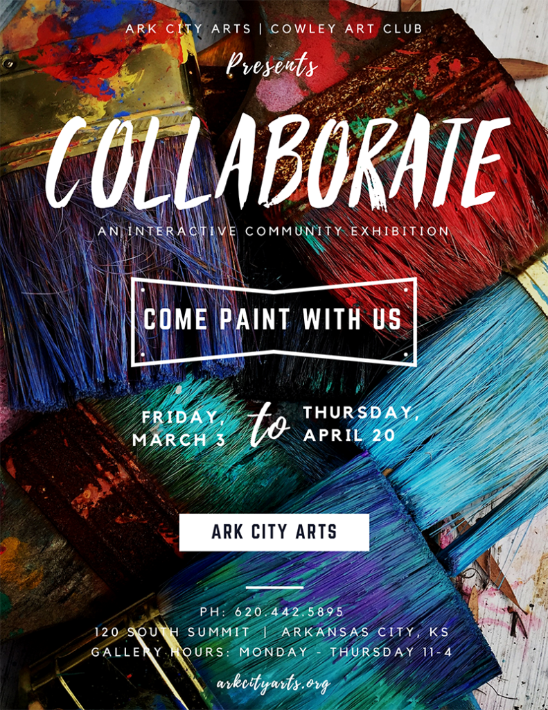 Collaborate Exhibition Poster