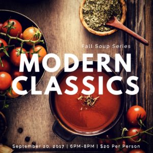 Fall Soup Series Modern Classics